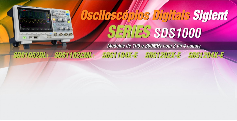osciloscópio digital siglent