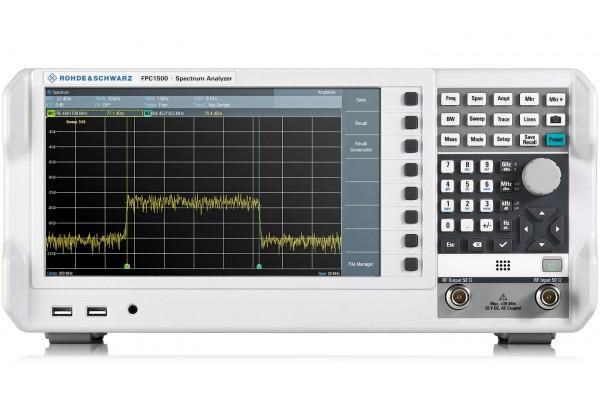 Analisador de Espectro de Bancada Rohde & Schwarz FPC1500