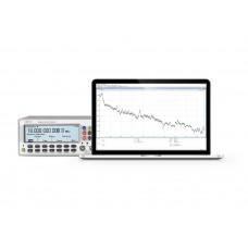 Software TimeView Modulation Domain Analyzer por Pendulum Instruments para análise estatística avançada