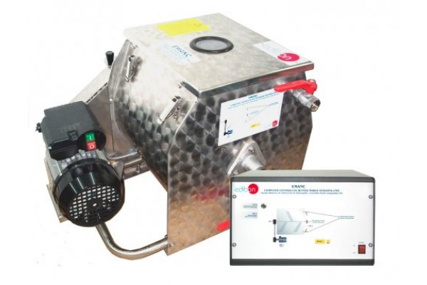 Bancada Didática em Engenharia para Fabricação de Manteiga Edibon EMANC