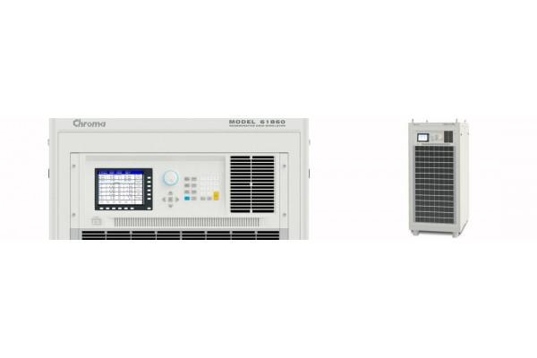 Simulador Regenerativo de Redes Elétricas Chroma Série 61800