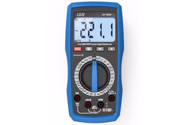 Multimetro Digital Compacto CEM DT-9516
