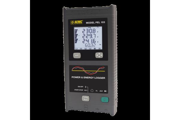 Analisador de Potência Trifásica e Data Logger AEMC PEL 103
