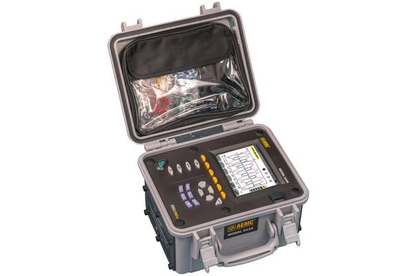 Analisador de Potência Trifásica e Data Logger AEMC PowerPad III 8436