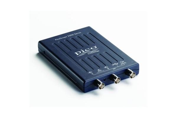 Osciloscópio USB Pico 2205A 25 MHz 2 Canais