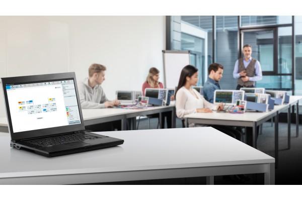 Software Educacional para Instrumentos Rohde & Schwarz Campus Dashboard CDS