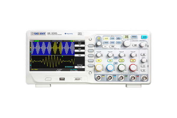 Osciloscópio Digital Siglent SDS1074CFL