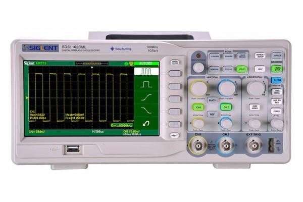 Osciloscópio Digital Siglent Série SDS1000CML+
