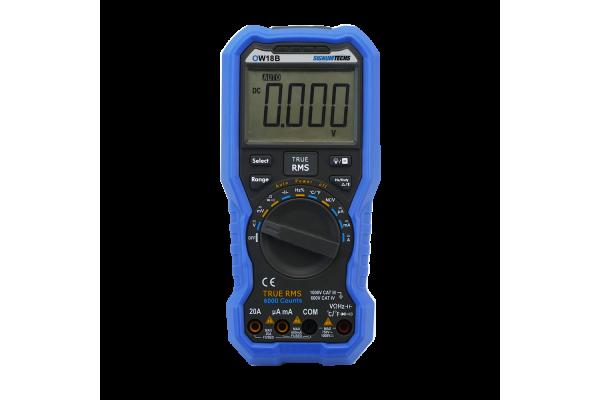Multímetro Digital Signumtechs OW18B True RMS com Interface Bluetooth