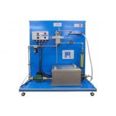 Bancada Didática de Controle de Temperatura do Fluxo de Água Edibon RYC TAG