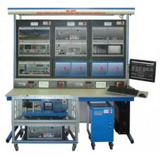 Bancada Didática de Usina eólica com aplicação de gerador de indução de alimentação dupla Edibon AEL-WPP