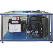 Bancada Didática de circuito de refrigeração de motor automotivo Edibon AV ECC
