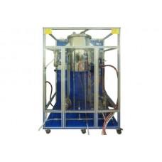 Bancada Didática de desodorização controlada por computador Edibon AEDC