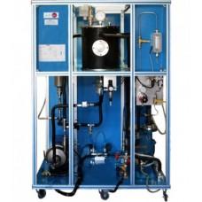 Bancada Didática de hidrogenação controlada por computador Edibon AEHC