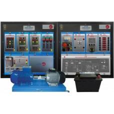 Bancada Didática de sistemas de partida e carregamento automotivos Edibon AV SCS