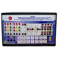 Bancada Didática para o Estudo de Eletrônica de Potência Controlado por Computador Edibon TECNEL