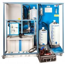 Equipamento de Processo de Biodiesel Controlado por Computador Edibon EBDC