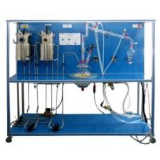 Equipamento de Processo de Bioetanol Controlado por Computador Edibon EBEC
