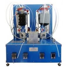 Equipamento de Processo de Biogás Controlado por Computador Edibon EBGC