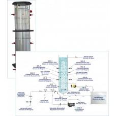 Reator Airlift, Controlado por Computador Edibon QRALC