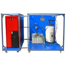 Unidade avançada de processo de biomassa controlada por computador Edibon EBMC/A
