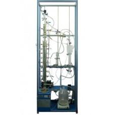 Unidade de Destilação Contínua, Controlada por Com Edibon UDCC